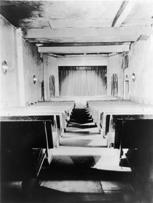 Interior of Playhouse