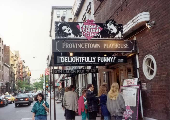 Exterior of Playhouse for Vampire Lesbians of Sodom